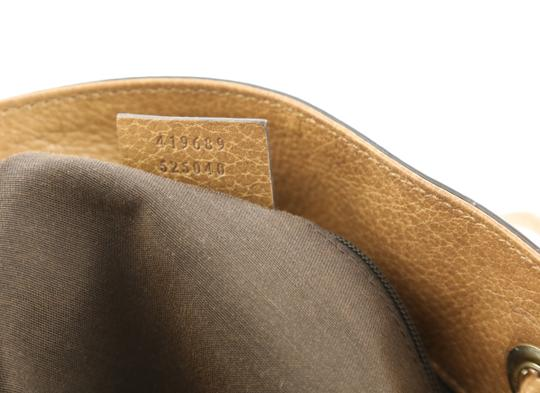 Gucci Calfskin Leather Gifford Tote in Brown Image 7