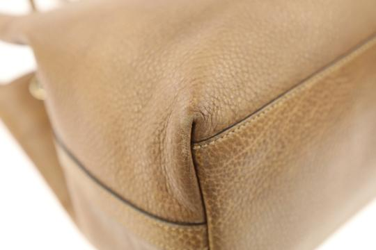 Gucci Calfskin Leather Gifford Tote in Brown Image 8