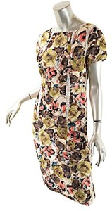 Thakoon short dress Multi Color Tea Sheath Floral on Tradesy