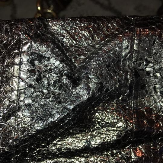 Jimmy Choo Tote in shiny silver Image 9