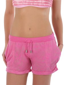 Just Cavalli Light Cuffed Hem Mini Mini/Short Shorts Pink