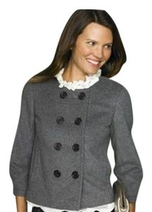 J.Crew Wool Cashmere Wool Double Breasted Short Pea Pea Coat