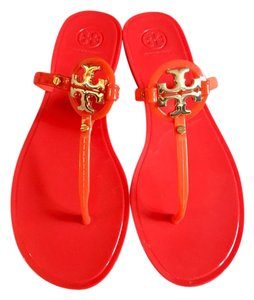 762fd109187a Red Tory Burch Sandals - Up to 90% off at Tradesy