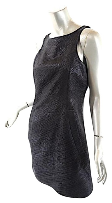Item - Black W Shift W/ Deep Front Pockets Fully Lined Short Casual Dress Size 6 (S)