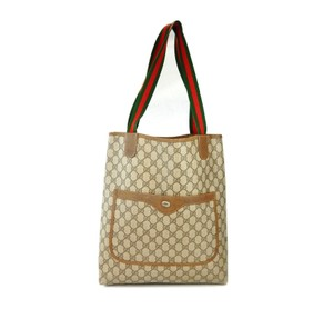 Gucci Gg Vintage Tote in Brown