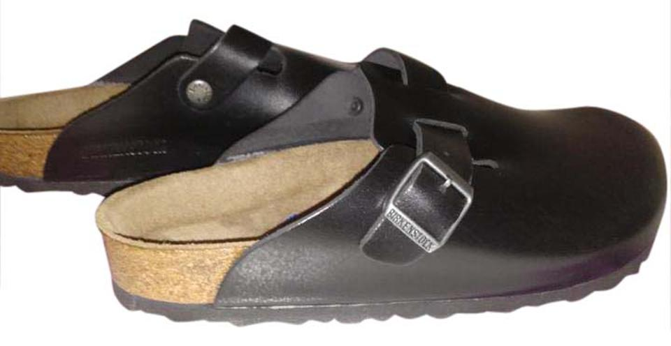 Birkenstock Mules/Slides Black Boston Soft Footbed Mules/Slides Birkenstock ce06c0