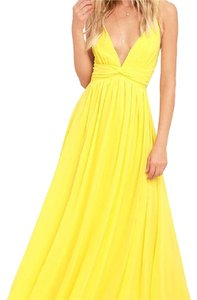 yellow Maxi Dress by Lulu*s