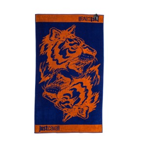 Just Cavalli New Just Cavalli Tiger Print 100% Cotton Extra Large Beach Pool Towel