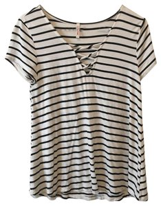 Other Top black and white stripe