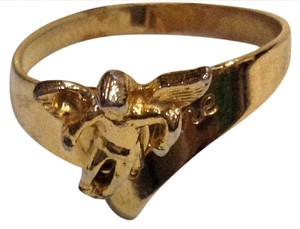 Other cherub 18k gold ring
