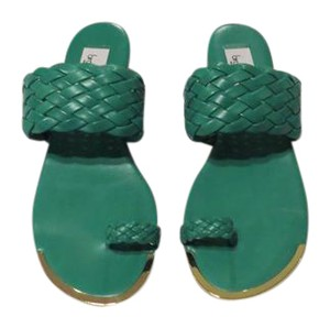 Braccialini Color Lovely Design Made In Italy Verde Sandals