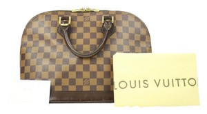 Louis Vuitton Damier Alma Damier Speedy Ebene Alma Ebene Speedy Lock It Satchel