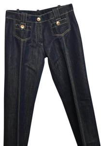 Louis Vuitton Boot Cut Jeans-Dark Rinse
