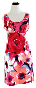 New York & Company short dress Pink Floral on Tradesy