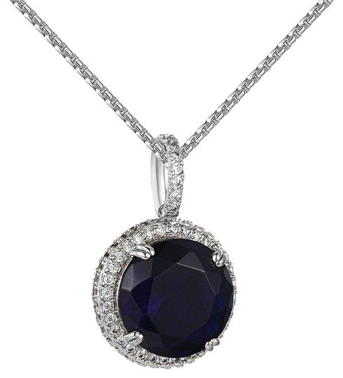 Preload https://img-static.tradesy.com/item/20873737/blue-solitaire-ruby-cz-pendant-lab-diamonds-iced-out-white-gold-finish-charm-0-1-540-540.jpg