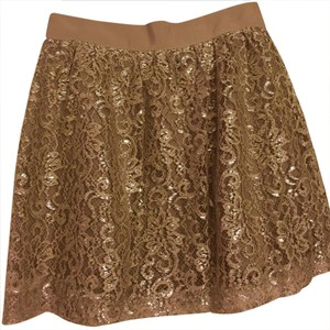 J.Crew Skirt Beige/metallic
