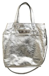 Marc Jacobs Metallic Tote in Silver