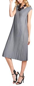 Gray Maxi Dress by Nabisplace Maxi Long Flared
