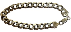Other sterling silver chain link bracelet