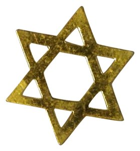 Other 24k gold jewish star
