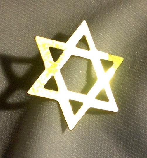 Other gold jewish star Image 1