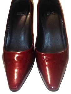 Stuart Weitzman red & black Pumps