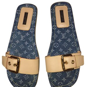 Louis Vuitton denim Sandals