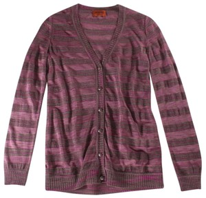 Missoni Goat Cashmere Silk Cardigan Sweater