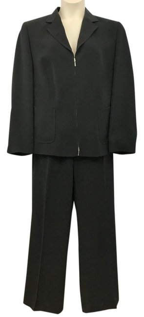 Item - Made In France Black 46 Pant Suit Size 14 (L)