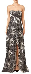 Marchesa Notte And Split Strapless Sweetheart Dress