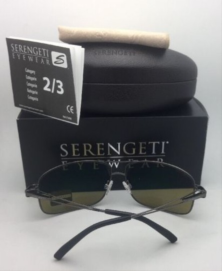Serengeti SERENGETI PHOTOCHROMIC POLARIZED Sunglasses Sassari 8596 Gunmetal+Blue Image 5