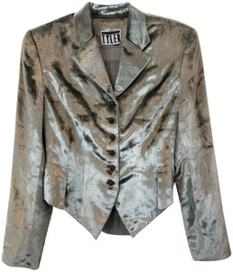 Richard Tyler Couture Silver Jacket