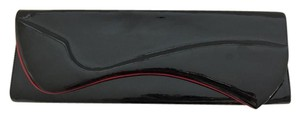 Christian Louboutin Patent Pigalle Black Clutch