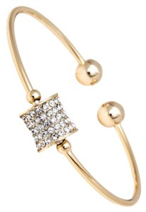 Swarovski 18k Gold Plated Bangle Bracelet with Swarovski elements #2132