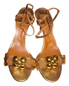 Chloé Bronze Sandals