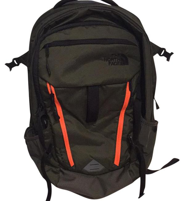 Item - 4501455212 Green and Orange Backpack
