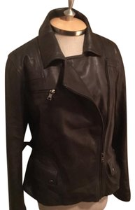 RESERVED Banana Republic Gray Leather Jacket