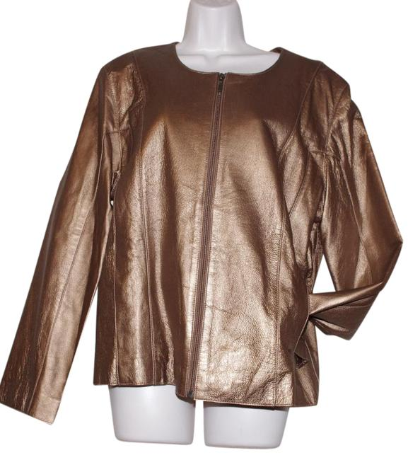 Preload https://img-static.tradesy.com/item/20874767/gold-collection-collarless-women-leather-jacket-size-18-xl-plus-0x-0-1-650-650.jpg