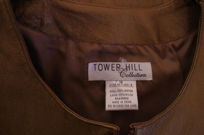TOWER HILL gold Leather Jacket Image 2