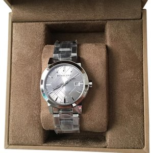 Burberry The City Ladies Silver Watch