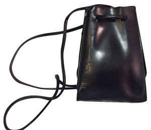 Furla Hermes Drawstring Leather Backpack