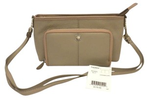 Brighton Caramba T42854 Tan Wallet Leather Wallet Cross Body Bag