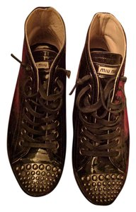 Miu Miu Miu Sneakers Sneakers Fashion Sneakers black Athletic