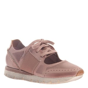 OTBT Pink Blush Leather Sneakers Blush Pink Athletic