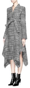 Stella McCartney Claudine Asymmetric Tweed Coat