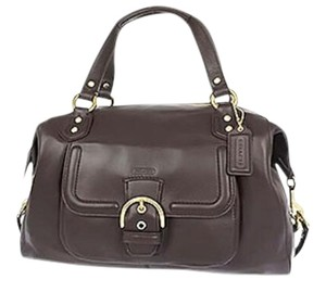 Coach Satchel in Mahogany