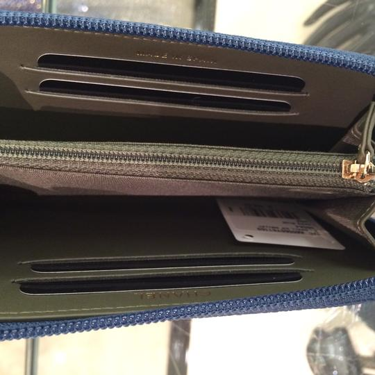 Chanel BN Chanel Boy Blue Zipped Around Wallet Image 2