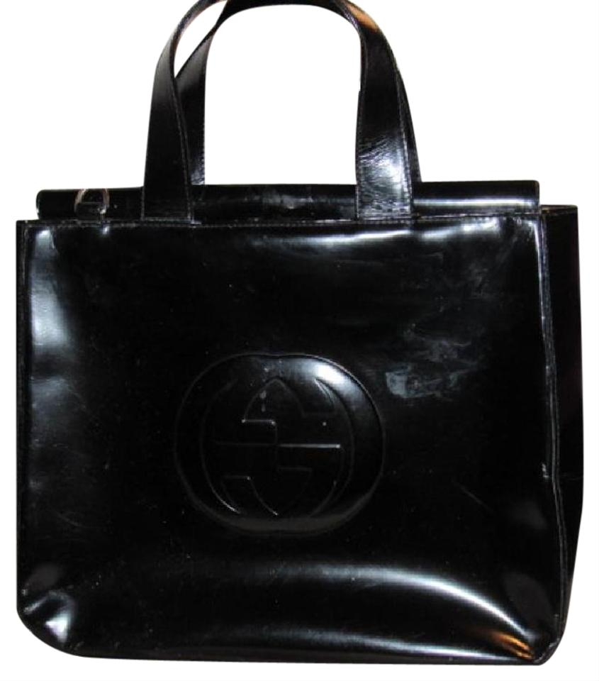 e8116ed5712 Gucci Large Embossed Gg Dressy Or Casual Excellent Vintage Two Way Style  Soho Blondie Look ...