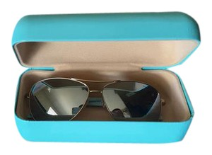 Tiffany & Co. Tiffany's Gold Aviator Sunglasses