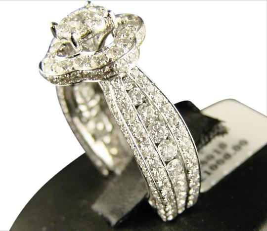 Preload https://img-static.tradesy.com/item/20875505/14k-white-gold-lady-eternity-bridal-engagement-diamond-40-ct-ring-0-1-540-540.jpg